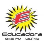 Logo da emissora Rádio Educadora 94.5 FM
