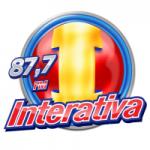 Logo da emissora Rádio Interativa 87.7 FM