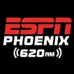 Logo da emissora Radio ESPN KTAR 620 AM