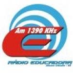 Logo da emissora Rádio Educadora 1390 AM