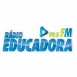 Logo da emissora Rádio Educadora 89.5 FM