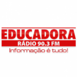 Logo da emissora Rádio Educadora 90.3 FM