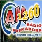 Logo da emissora Rádio Educadora 1260 AM