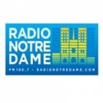 Logo da emissora Notre Dame 100.7 FM