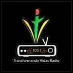 Logo da emissora Transformando Vidas Radio 105.1 FM
