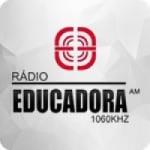 Logo da emissora Rádio Educadora 1060 AM