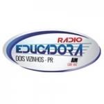 Logo da emissora Rádio Educadora 1300 AM