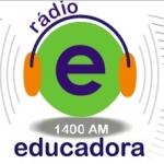 Logo da emissora Rádio Educadora 1400 AM