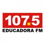 Logo da emissora Rádio Educadora 107.5 FM