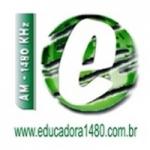 Logo da emissora Rádio Educadora 1480 AM