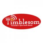 Logo da emissora Rádio Timblesom