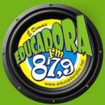 Logo da emissora Rádio Educadora 87.9 FM