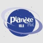 Logo da emissora Planete 105.8 FM