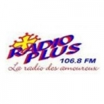 Logo da emissora Plus 106.8 FM