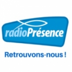 Logo da emissora Présence 97.7 FM