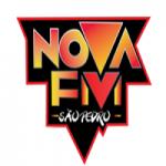 Logo da emissora Rádio Nova São Pedro FM