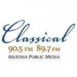 Logo da emissora KUAT 89.7 FM Classical