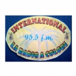 Logo da emissora Radio International 95.5 FM