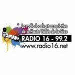 Logo da emissora Radio 16 99.2 FM