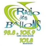 Logo da emissora Radio des Ballons 101.8 FM