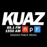 Logo da emissora KUAZ 89.1 FM