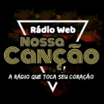Logo da emissora Rádio Web Nossa Canção