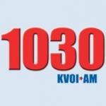 Logo da emissora KVOI 1030 AM