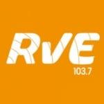 Logo da emissora RVE 103.7 FM