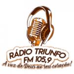 Logo da emissora Rádio Triunfo FM