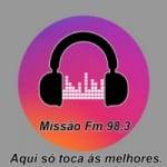 Logo da emissora Rádio Missão FM