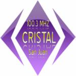 Logo da emissora Radio Cristal 100.3 FM
