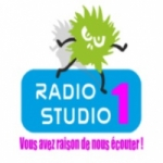 Logo da emissora Studio 1 105.8 FM