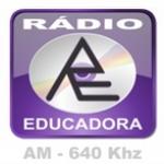 Logo da emissora Rádio Educadora 640 AM