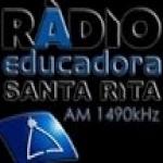 Logo da emissora Rádio Educadora Santa Rita 1490 AM
