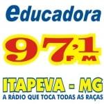 Logo da emissora Rádio Educadora 97.1 FM