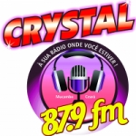 Logo da emissora Rádio Cristal FM De Mocambo