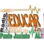 Logo da emissora Rádio Educar 104.9 FM