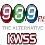 Logo da emissora Radio KWSS 93.9 FM