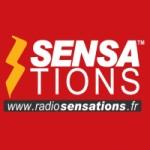 Logo da emissora Sensations 98.4 FM