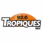 Logo da emissora Tropiques 92.6 FM
