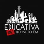 Logo da emissora Rádio Educativa 106.7 FM