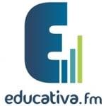 Logo da emissora Rádio Educativa 107.7 FM