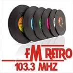 Logo da emissora Radio Retro 103.3 FM