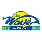 Logo da emissora Radio The Wave 93.7 - 94.5 FM