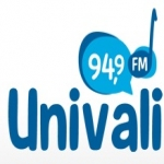 Logo da emissora Rádio Educativa Univali 94.9 FM