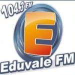 Logo da emissora Rádio Edu Vale 104.3 FM