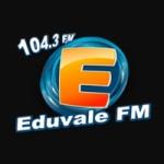 Logo da emissora Rádio Eduvale 104.3 FM