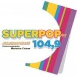 Logo da emissora Rádio Superpop 104.9 FM