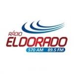 Logo da emissora Rádio Eldorado 570 AM