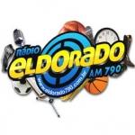 Logo da emissora Rádio Eldorado 790 AM